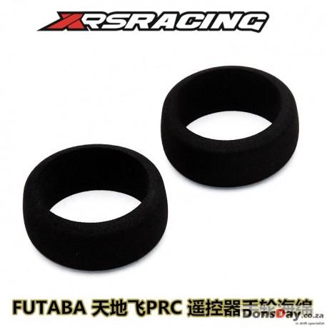 XRS Radio control wheel sponge (Black) for Futaba radio 2pcs