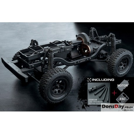 Mst CMX 1/10 crawler chassis with Esc and motor car kit