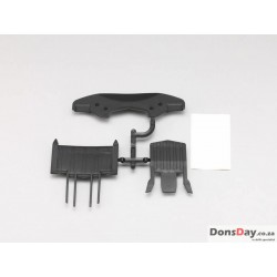 Yokomo Front & Undertray Diffuser Set for YD-2/YD-4