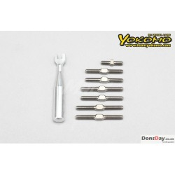 Yokomo Titanium Turn Buckle Set for YD-2 SERIES