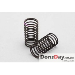 Yokomo 32mm Standard Drift Spring Medium-Soft 1.2x 10.5 coils Pink