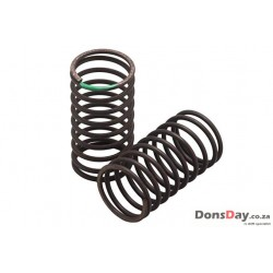 Yokomo 32mm Standard Drift Spring Medium-Soft 1.3x 9.5 coils Green 2pcs