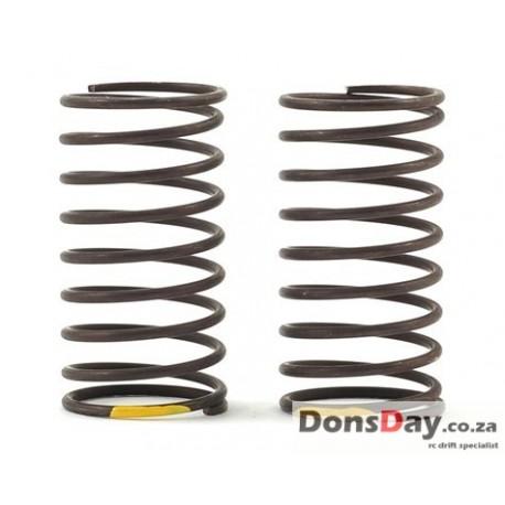 Yokomo 32mm Standard Drift Spring Medium-Soft 1.2x 9.5 coils Yellow 2pcs