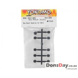 Yokomo BD8 Suspension Mount Bushing Set Black