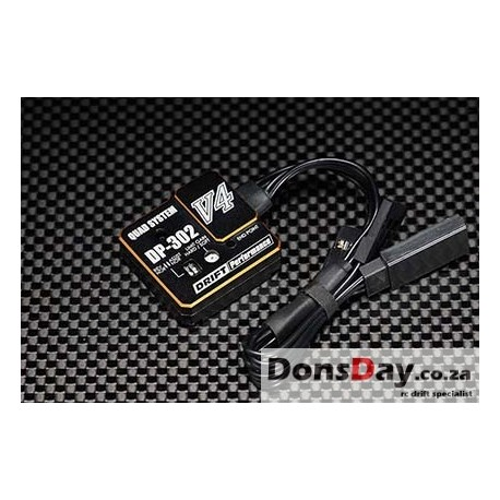 Yokomo V4 DRIFT PERFORMANCE DRIFT STEERING GYRO