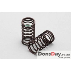 Yokomo 32mm Sφ1.3x9.5Turn (Green) Progressive spring for Drift 2pcs