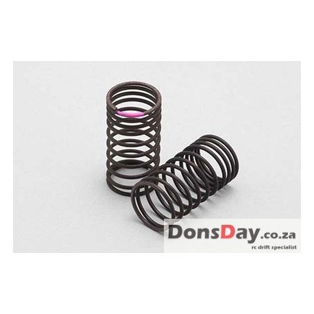 Yokomo 32mm φ1.2x10.5Turn (Pink) Progressive spring for Drift 2pcs