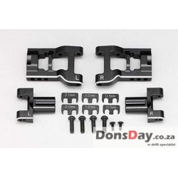 "YOKOMO YD-2 / YD-4 series Adjustable rear lower short ""H"" arm set (Aluminum, Bevel edge processed)"