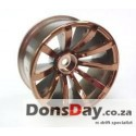 Top line Drift Fighter DRS-10 Jupiter Offset 5 Super W Bronze 4mm hub specification 4pcs