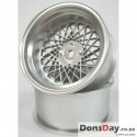 Breaks mesh wheel strengthening Ver Offset 3 Matt Silver 4 pcs.