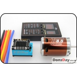 OmG 120A Esc 8.5T brushless system combo (Brown motor)