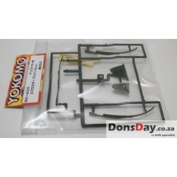 Yokomo Aero mirror and wiper set