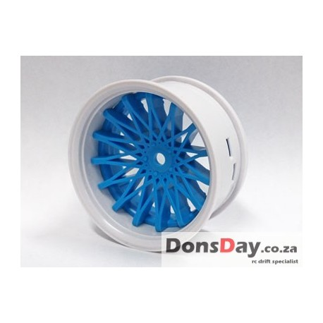Super RIM white and blue DAHLIA 4pcs set (Limited Edition)