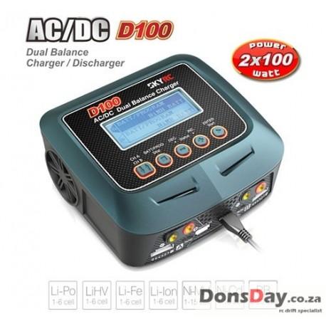 SKYRC D100 AC/DC Dual Balance 10A Charger / 5A Discharger