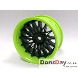 Super RIM green and black DAHLIA 4pcs set (Limited Edition)