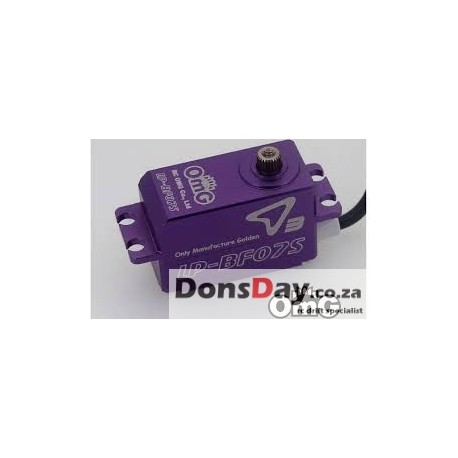 OmG Brushless servo low profile for Drift/Racing (Full Purple)