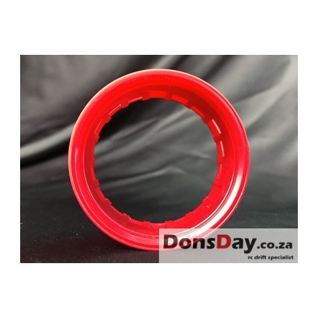 "Super RIM"" RIM type 01 Hot Red 2pcs"