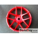 "Super RIM"" DISC ""Jasmine"" Hot Red 2pcs"