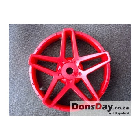 "Super RIM"" DISC ""Southern Cross"" Hot Red 2pcs"