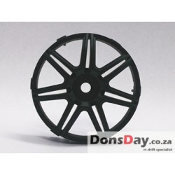 "Super RIM"" DISC ""Marguerite"" Matte BLACK 2pcs"