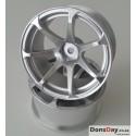 Mikuni AVS model T7 wheel offset5 matte silver (4pc)