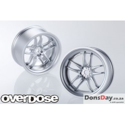 OVERDOSE WORK XSA04C (MAT CHROME / OFF+5) 4PC