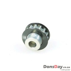 3Racing Aluminum Center Pulley Gear T16 For Sakura D3 D4