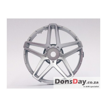 "Super RIM"" DISC ""Southern Cross"" Matte SILVER 2pcs"