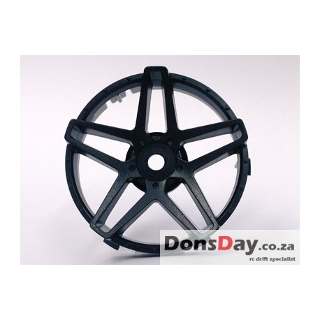 "Super RIM"" DISC ""Southern Cross"" Solid BLACK 2pcs"