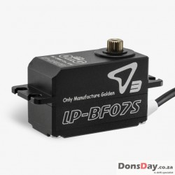 Brushless servo low profile