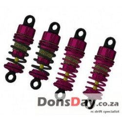 D4 57mm Fully Aluminum Damper set Pink