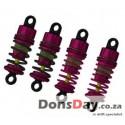 D4 57mm Fully Aluminum Damper set Pink