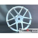 "Super RIM"" DISC ""Jasmine"" Heavy WHITE 2pcs"