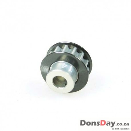 3Racing Aluminum Center Pulley Gear T14 For Sakura D3 D4
