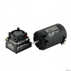 OmG 120A Esc 8.5T strike brushless system combo Black Ver.
