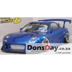 D-Like Mazda RX-8 SPIRIT R 197mm 1/10 Clear RC Drift Body