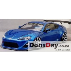 D-Like Toyota 86 ZN6 Front 198mm Rear 200mm 1/10 Clear RC Drift Body