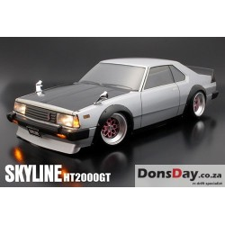 ABC Hobby NISSAN Skyline HT2000GT C210 200mm Body Set Street Fender Ver.