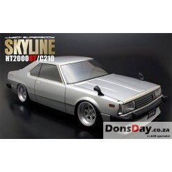 ABC Hobby NISSAN SKYLINE HT2000GT C210 190mm Body Set For 1/10 RC Tourning Drift