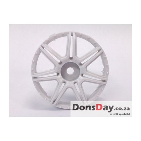"Super RIM"" DISC ""Marguerite"" Heavy WHITE 2pcs"