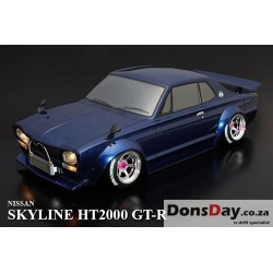 ABC Hobby NISSAN Skyline HT2000 GT-R Rectangle Headlight Ver. 200mm Body Set