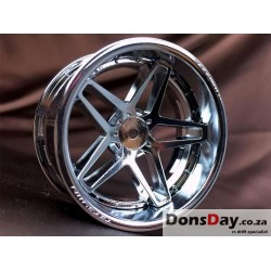 Super RIM Chrome and Chrome Southern Cross 4pcs set