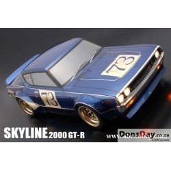 BARIBARI CUSTOM !! NISSAN SKYLINE 2000 GT-R (KPGC110) + RACING OVER FENDER