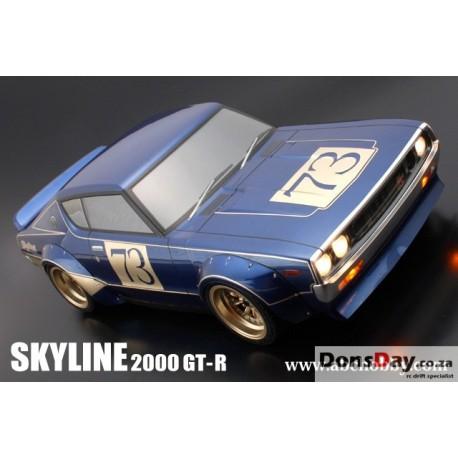 BARIBARI CUSTOM !! NISSAN SKYLINE 2000 GT-R (KPGC110) + RACING OVER FENDER