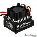 OMG Thunder Power D-RUN 120A Brushless ESC w/ Program Card Black