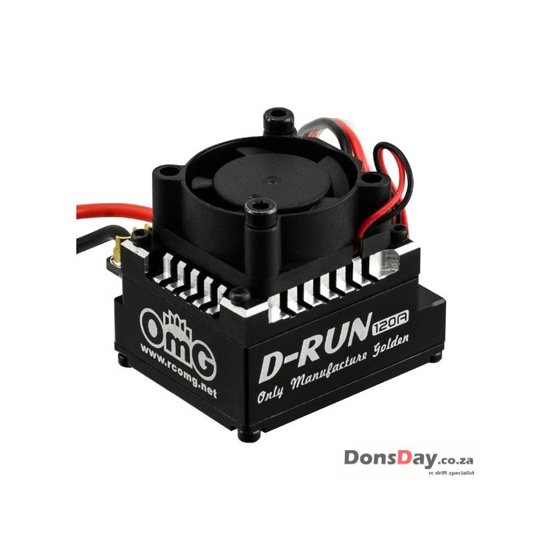 OMG Thunder Power D-RUN 120A Brushless ESC w/ Program Card