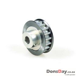 3Racing Aluminum Center Pulley Gear T22 For Sakura D3 D4
