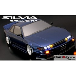 NISSAN Silvia S13 Aero Custom Ver. 205mm Body Set For 1/10