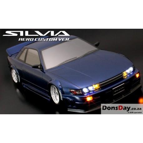 NISSAN Silvia S13 Aero Custom Ver. 205mm Body Set For 1/10