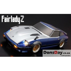 ABC Hobby NISSAN FAIRLADY 280Z S130 200mm Body Set Street Fender Ver. For 1/10 RC Touring Drift
